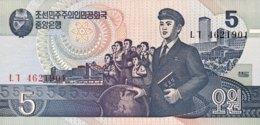 North Korea 5 Won, P-40 (1998) - UNC - Corée Du Nord