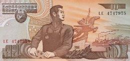 North Korea 10 Won, P-41 (1998) - UNC - Korea (Nord-)