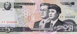 North Korea 5 Won, P-58 (2002) - UNC - Corée Du Nord