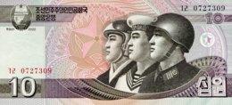 North Korea 10 Won, P-59 (2002) - UNC - Corée Du Nord