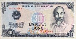 Vietnam 30 Dong, P-95 (1985) - UNC - Vietnam