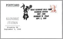 TEXAS KLONDIKE GOLD RUSH - DESCUBRIMIENTO DE ORO. Klondike TX 1998 - Minerales