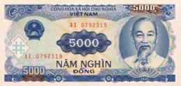 Vietnam 5.000 Dong, P-108 (1991) - UNC - Vietnam