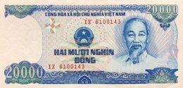 Vietnam 20.000 Dong, P-110 (1991) - EF/XF+ - Vietnam