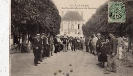 AUXERRE LA SOCIETE DU JEU DE BOULES - Auxerre