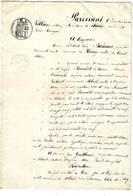 CONSERVATIONS DES HYPOTHEQUES  Lot De 70 Documents De 1844 à 1881 - Francia