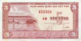 South Vietnam 5 Dong, P-13a (1955) - AUNC - Vietnam