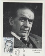 Carte-Maximum FRANCE N° Yvert 1825 (Edmond MICHELET) Obl Sp Ill 1er Jour (Ed Steff) - 1970-79