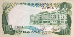 South Vietnam 100 Dong, P-31 (1972) - AUNC - Vietnam