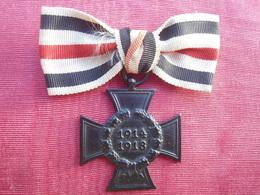 Médaille  Allemande  WWI - 1914-18