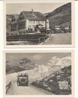 Switzerland Furka Pass 10 Photos Souvenir Folder Interwar Charabancs Open-topped Bus James Bond 007 Goldfinger Location - Reproductions