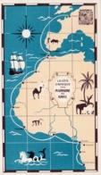 COTE AFRICAINE  : Carte PLASMARINE Et IONYL : - Cartes Postales