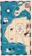 COTE AFRICAINE  : Carte PLASMARINE Et IONYL : - Postales