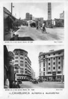 Maroc - CASABLANCA Autrefois & Aujourd'hui - Entrée De La Rue Blaise Pascal - Casablanca