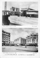 Maroc - CASABLANCA Autrefois & Aujourd'hui - Place Edmond Doutté - Casablanca