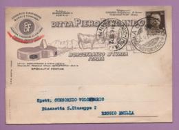 Ditta Piero Ferrando, Specialità Fontine, Commercio Esportazione Burri E Formaggi - Borgofranco D'Ivrea - Other