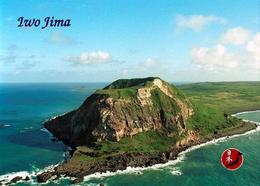 Japan Iwo Jima Island Aerial View New Postcard AK - Otros