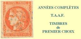 TAAF, Année Complète 1976**, Poste N°61 à N°63, P.A. N°42 à N°47  Y & T - Komplette Jahrgänge