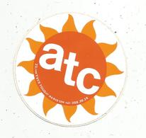 Autocollant , ATC , PARIS 10 E - Stickers