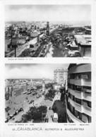 Maroc - CASABLANCA Autrefois & Aujourd'hui - Place De France - Casablanca