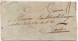 Belgique LSC - Départ Inconnu Vers NINOVE - AA5 - 1621-1713 (Pays-Bas Espagnols)
