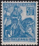 France  .   Yvert    .   257     .     **  .    Neuf  SANS  Charniere  .   /   .    MNH - France