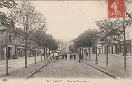GAGNY   93 SEINE SAINT DENIS    CPA   RUE DU BARON ROGER - Gagny