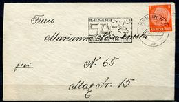 "German Empires 1938 Bedarfsbrief Mit Mi.Nr.517 Und Propaganda MWST""Berlin N4-SA Berlin Reichswettkämpfe  ""1 Karte - Covers & Documents"