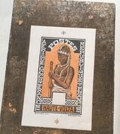 """Haute-Volta 1928 Une épreuve D' Artiste Sans Faciale """"FEMME"""" RR ! (colonies Françaises Bijoux  French Colonies - Alto Volta (1920-1932)"""