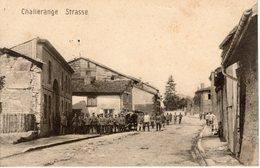 CHALLERANGE. Strasse - France