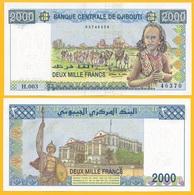 Djibouti 2000 Francs P-43 2008 UNC - Djibouti