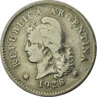 Monnaie, Argentine, 10 Centavos, 1928, TTB, Copper-nickel, KM:35 - Argentine