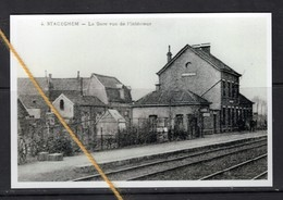 REPRODUCTION  STACEGHEM HARELBEKE  WEST VLAANDEREN STATION - Harelbeke