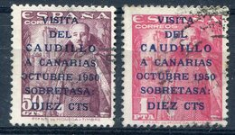 ESPAÑA     Nº  1088 / 89   Matasellados-80 - 1931-Hoy: 2ª República - ... Juan Carlos I