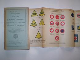 1942:Etat Major De L'Armée; Instruction Sur Le Matériel Automobile,la Conduite Des Véhicules & Les Colonnes Automobiles - Livres