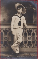 Prins Prince Leopold De Belgique  Monarchy Monarchie Belgie Royalty Belgium RARE CPA - Familias Reales