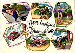 PETIT LEXIQUE DE L'AUTOMOBILISTE - Cartes Postales