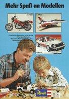 KAT192 Modellprospekt REVELL Plastics, A5-Format, Deutsch - Littérature & DVD