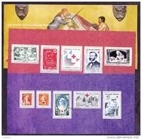France - Feuillet Bloc Souvenir N°  95 Et 95 A ** Croix Rouge - Bloques Souvenir