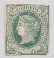 LOTE 1853  ///  (C017) ESPAÑA ANTILLAS ESPAÑOLAS 1866 *MH - España