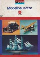 KAT194 Modellprospekt MONOGRAM Modellbausätze, Mattel 1978, Deutsch - Littérature & DVD