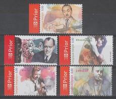 SERIE NEUVE DE BELGIQUE - LE JAZZ BELGE N° Y&T 3271 A 3275 - Musica