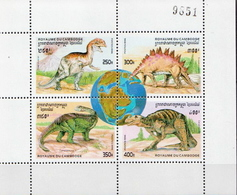Cambodia 3 MNH SSs - Stamps