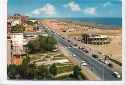 RIMINI, Lungomare E Spiaggia, Used Postcard [23013] - Rimini