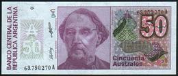 ARGENTINA - 50 Australes Nd.(1986-1989) UNC P.326 B(2) - Argentine