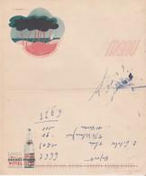 Menu Couleur / Publicité Eau Minérale / Grande Source VITTEL / L'eau Des Arthritiques / 88 Vosges - Menus