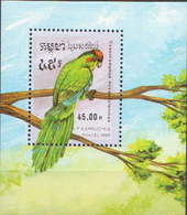 Cambodia MNH SS - Parrots