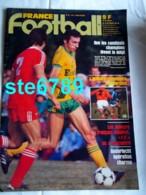 FRANCE FOOTBALL 1982 N° 1910 Sport Foot Bossis Ferreri , Buteurs Français , Anderlecht ,  Dos AS Monaco 82 83 Equipe - Sport
