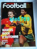 FRANCE FOOTBALL 1982 N° 1914 Sport Foot  FC Nantes , Lacombe , Camacho - Sport