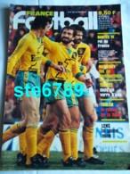FRANCE FOOTBALL 1983 N° 1939 Sport Foot Nantes , Bathenay , Tempet , Toulon , Lens , Dos Nantes Equipe - Sport